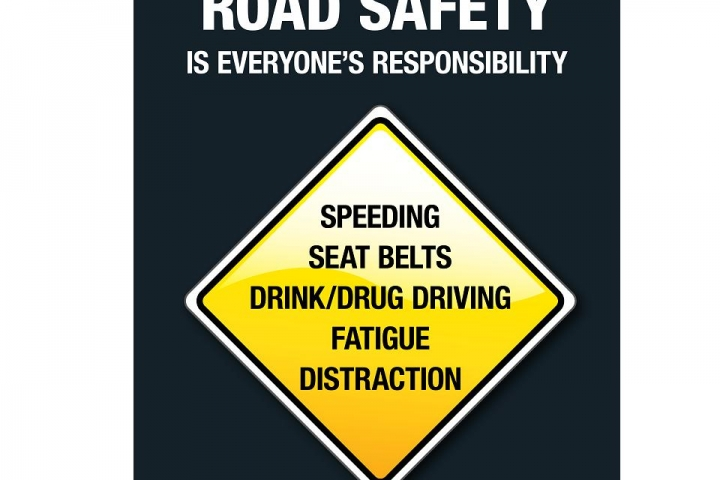 Road safety message for festive holiday season 2019!
