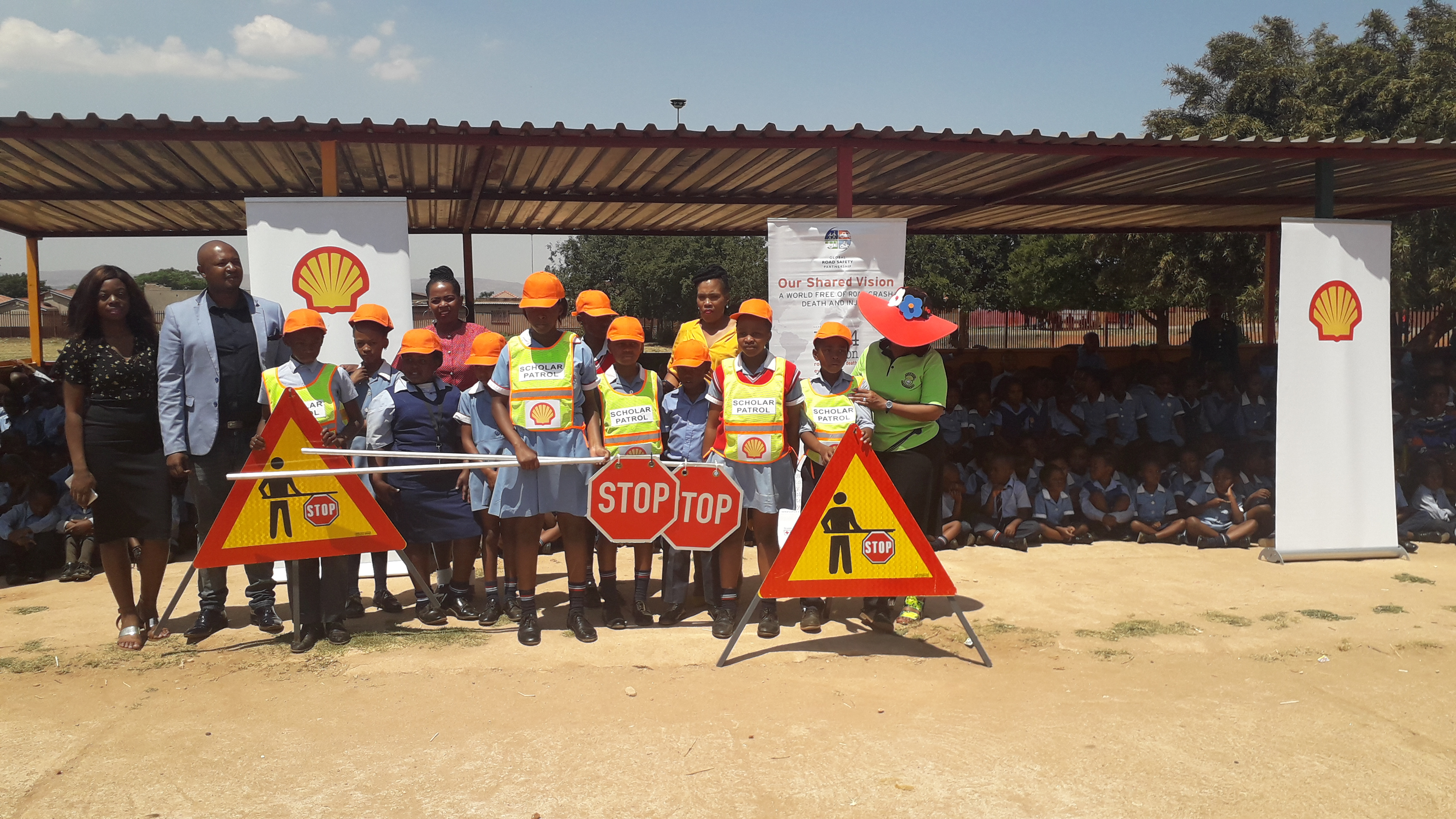Ekurhuleni Safe to Home Safe to School project – Scholar Patrol training and capacity building supported by Shell SA